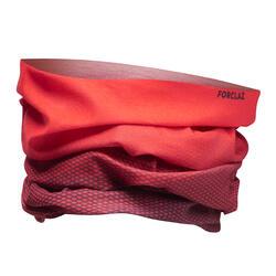 Gola de pescoço de trekking multi-posições TREK 100 vermelho