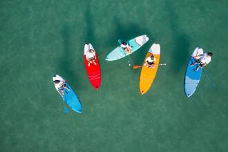 Stand up paddle de randonnée du débutant à expert   Sup gonflable