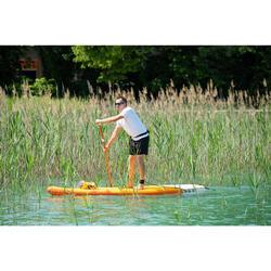 SUP-Paddel Stand Up Paddle 100 verstellbar 170–220 cm orange