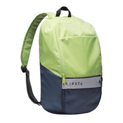 17-Litre Backpack Essential - Green/Storm Blue