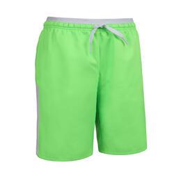 兒童款足球短褲F520 - 螢光綠