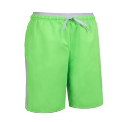 Kids' Football Shorts F520 - Neon Green