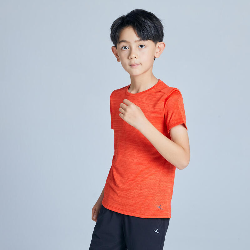 Çocuk Kırmızı Turuncu Tişört