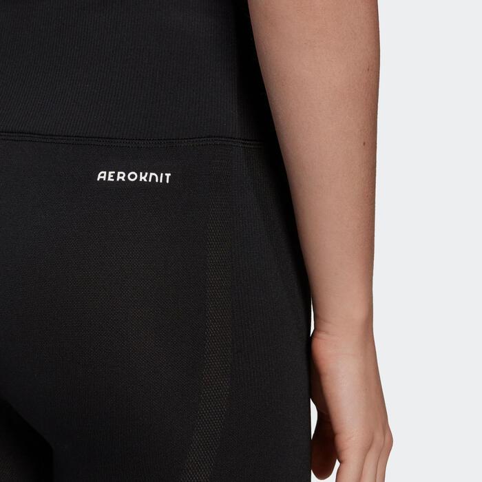 Legging 7/8 SEAMLESS Adidas fitness femme noir