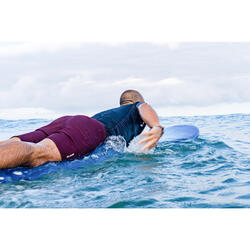 Surf boardshort standard 500 batubulan blue