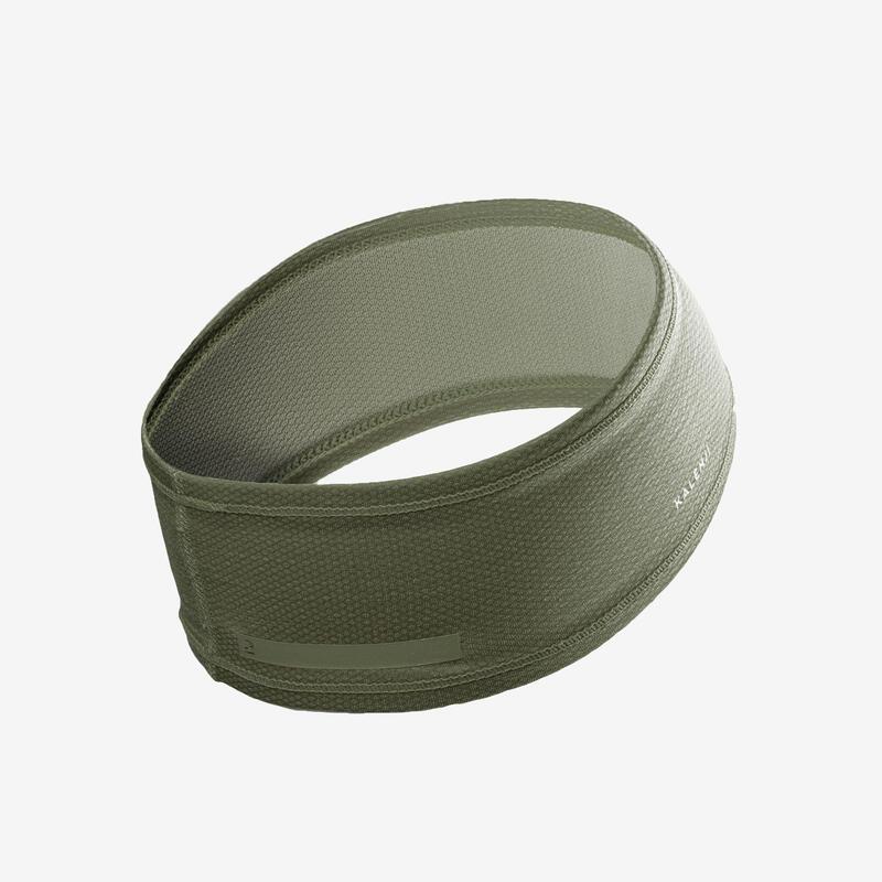 Fascia running verde militare