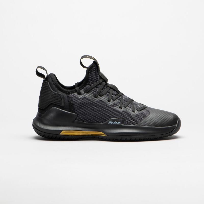 Erkek Basketbol Ayakkabısı - Siyah - FAST500