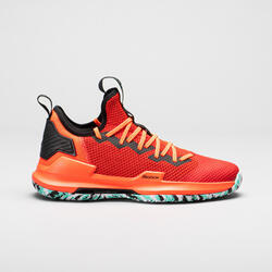 CHAUSSURES DE BASKETBALL HOMME FAST 500 ORANGE