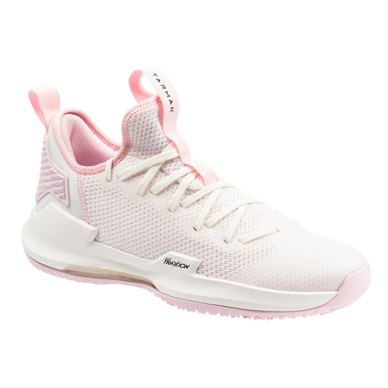 CHAUSSURES DE BASKETBALL HOMME FAST 500 ROSE