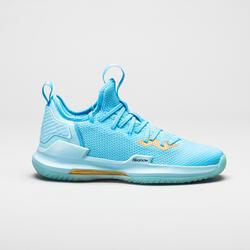 Basketbalschoenen voor heren Fast 500 lichtblauw