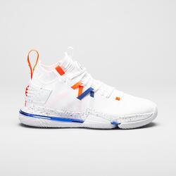 Men's Mid-Rise Basketball Shoes SE900 - White/Orange/Blue
