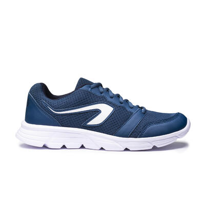 CHAUSSURES DE RUNNING HOMME KALENJI RUN 100 BLUE JEAN