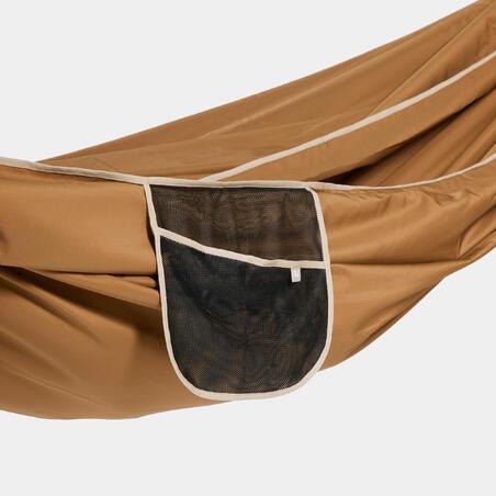 """Dvivietis hamakas """"Comfort"""", 350 x 175 cm, rudas"""
