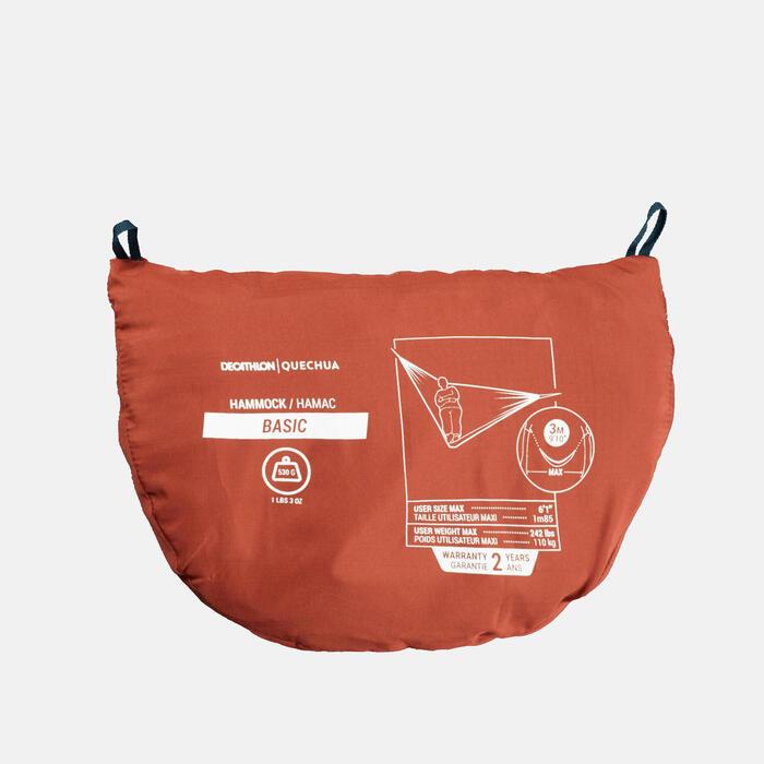 Hängematte Basic 300×152cm 1Person orange