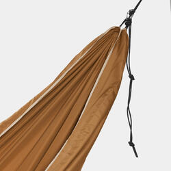 Hängematte Komfort 2 Personen 350×175cm braun