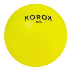 Bola de hóquei em campo liso FH500 amarelo