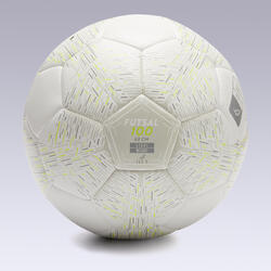 Bola de Futsal 100 Light 63 cm Branco