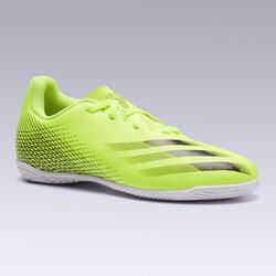 Sapatilhas de Futsal Criança X4 Amarelo/Preto