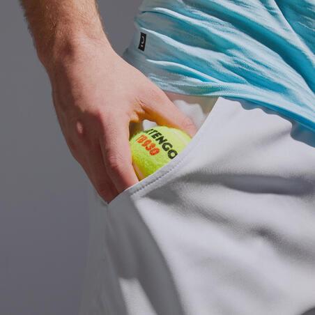 Men's Dry Tennis Shorts TSH 500 - Light Grey