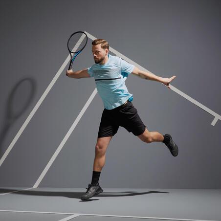 Men's Tennis T-Shirt TTS100 - Sky Blue