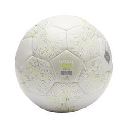 Ballon de Futsal 100 Light blanc