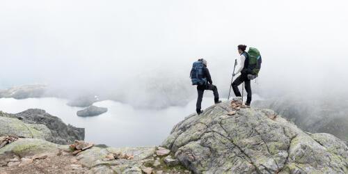 looking after trekking equipment