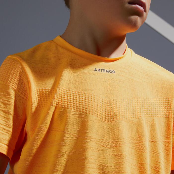T-Shirt 900 Jungen Sonnenblume