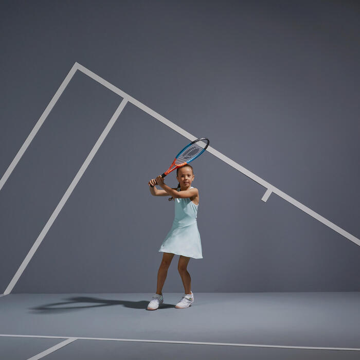 網球連身裙TDR500 - 淺綠色