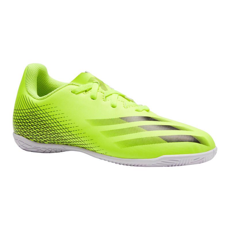 Chaussures de Futsal enfant X4 jaune noir