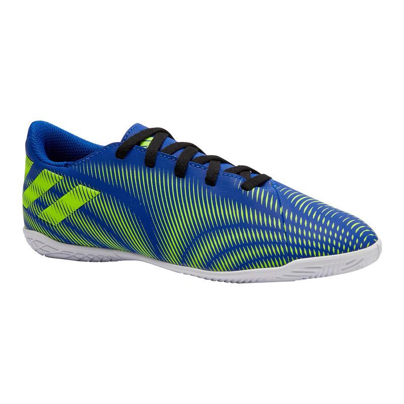 Chaussures de Futsal NEMEZIZ enfant bleu jaune
