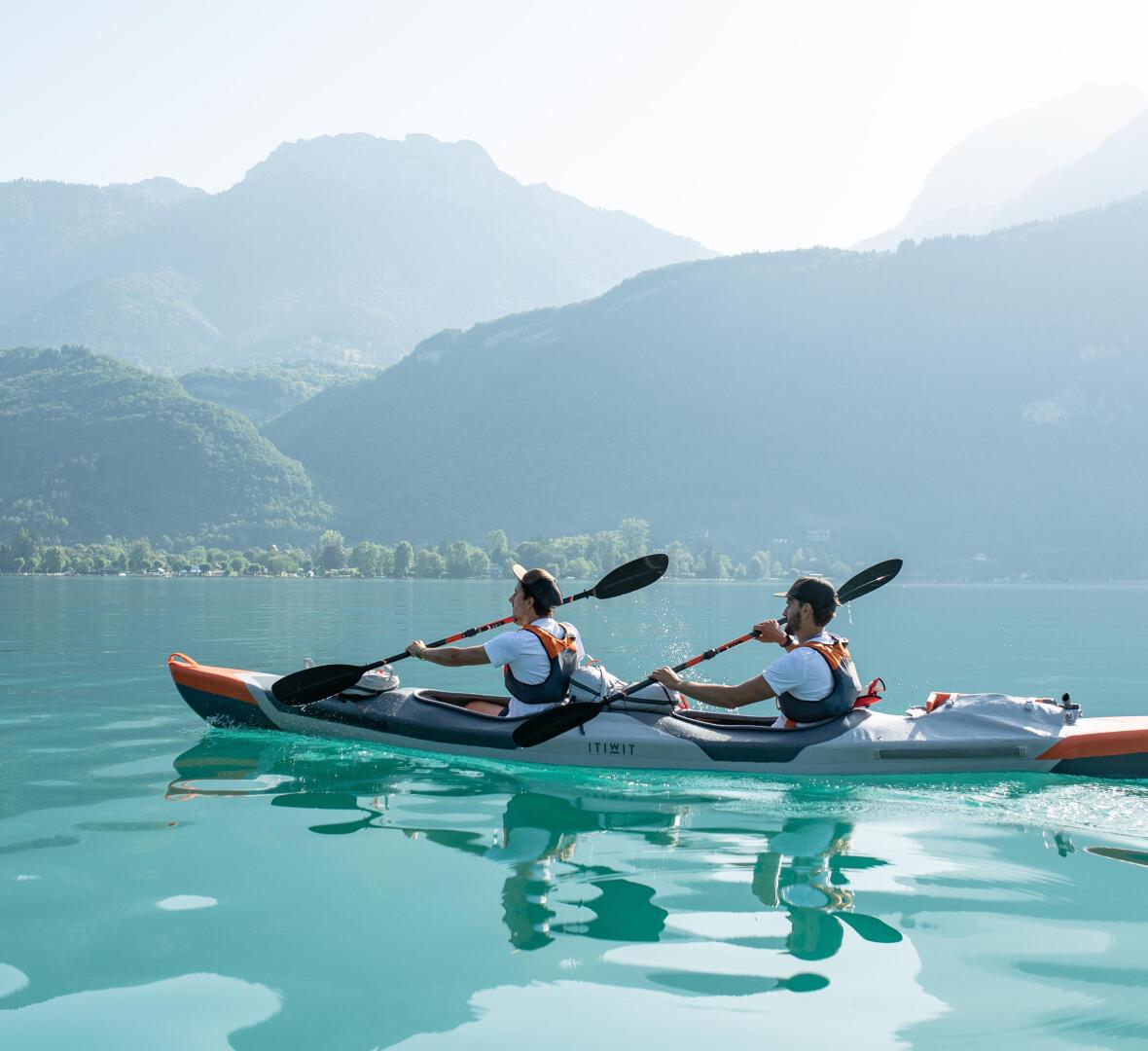 body paddle kayak