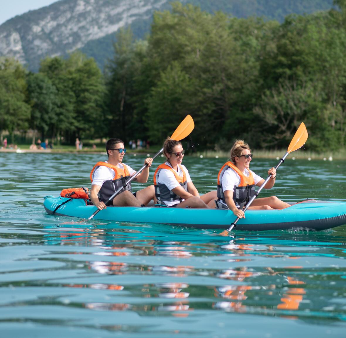 beginner kayak spot france