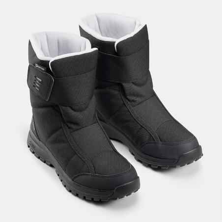 Women's Waterproof Warm Snow Boots - SH100 X-WARM - Mid