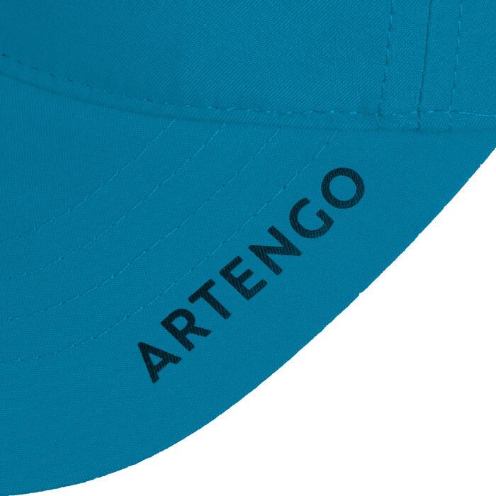 網球帽TC 500(58 cm)- 藍綠色