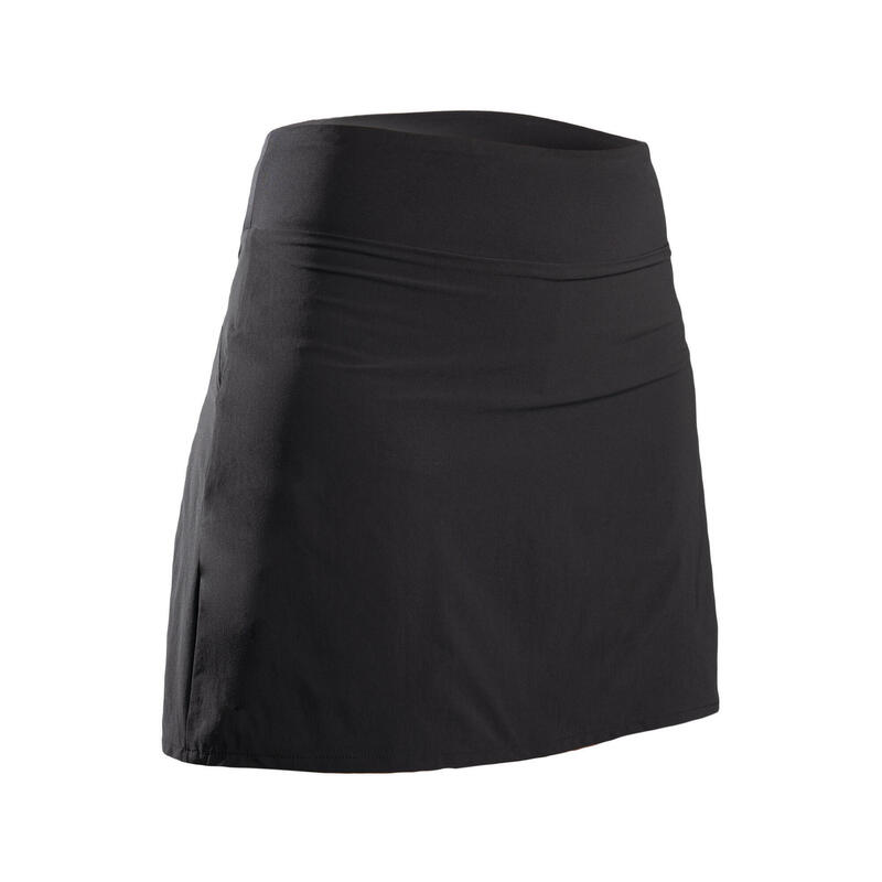 Jupe-short de golf femme WW500 noire