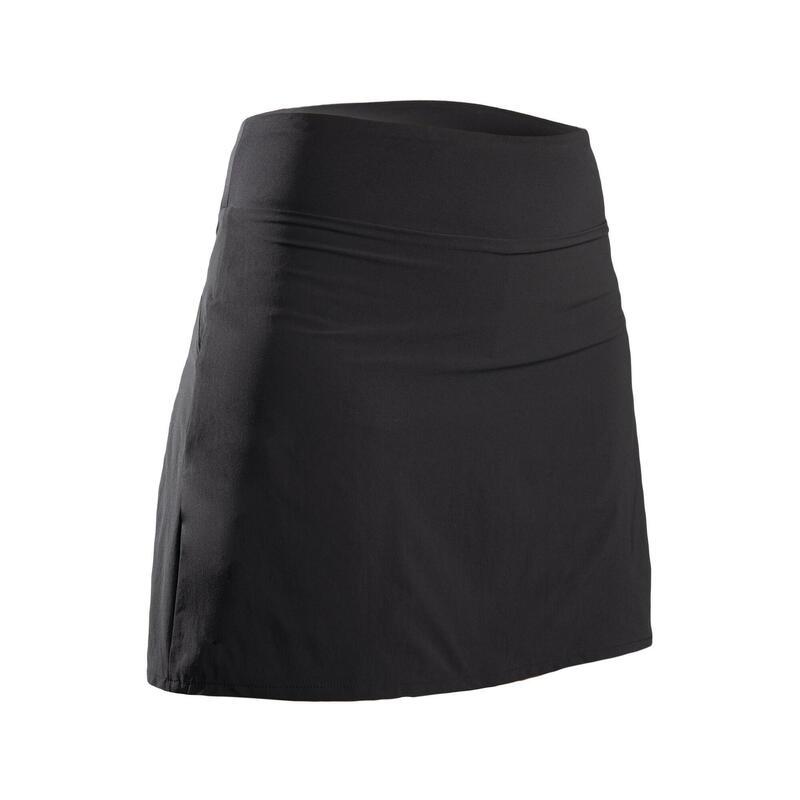 Gonna-pantaloncino golf donna light 500 nera