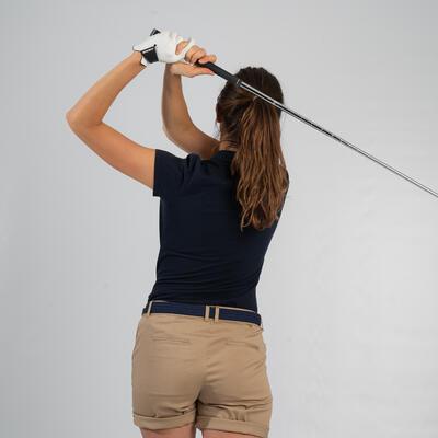 Camiseta Polo Manga Corta Golf Mujer Azul oscuro