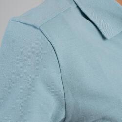 Polo de golf manches courtes femme MW500 bleu ciel