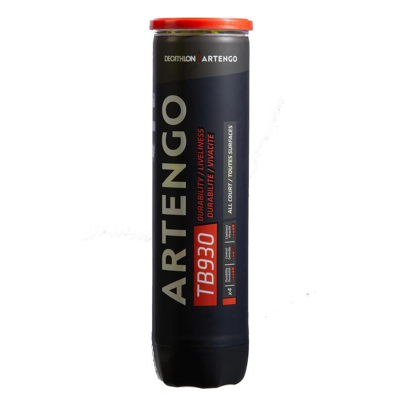 PELOTA DE TENIS TB930 *4 AMARILLO SPEED