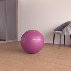 Size S Swiss Ball - Burgundy