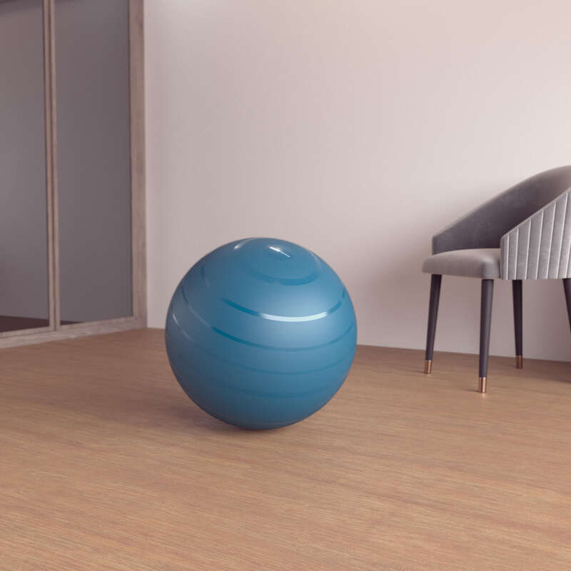 FITNESZ LABDA ÉS KÖNNYŰ TORNA KIEGÉSZÍTŐK Fitnesz - Fitneszlabda S-es, kék DOMYOS - Alakformálás és pilates eszközök