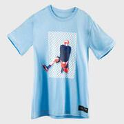 Men's Basketball T-Shirt / Jersey TS500 Fast - Light Blue Reverse Dunk