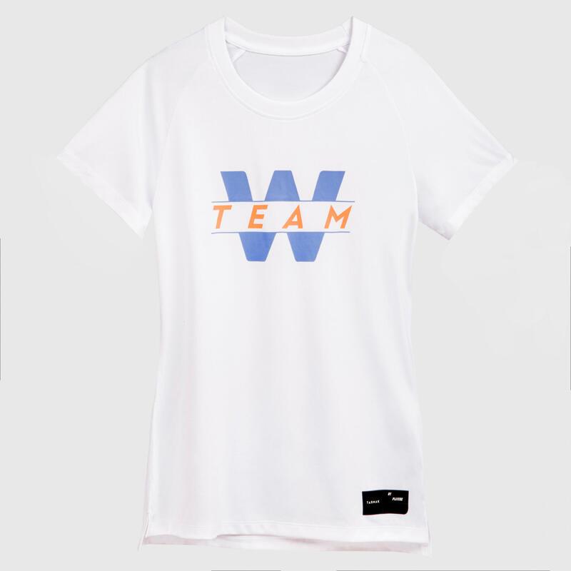 Kadın Basketbol Forması - Beyaz - TS500