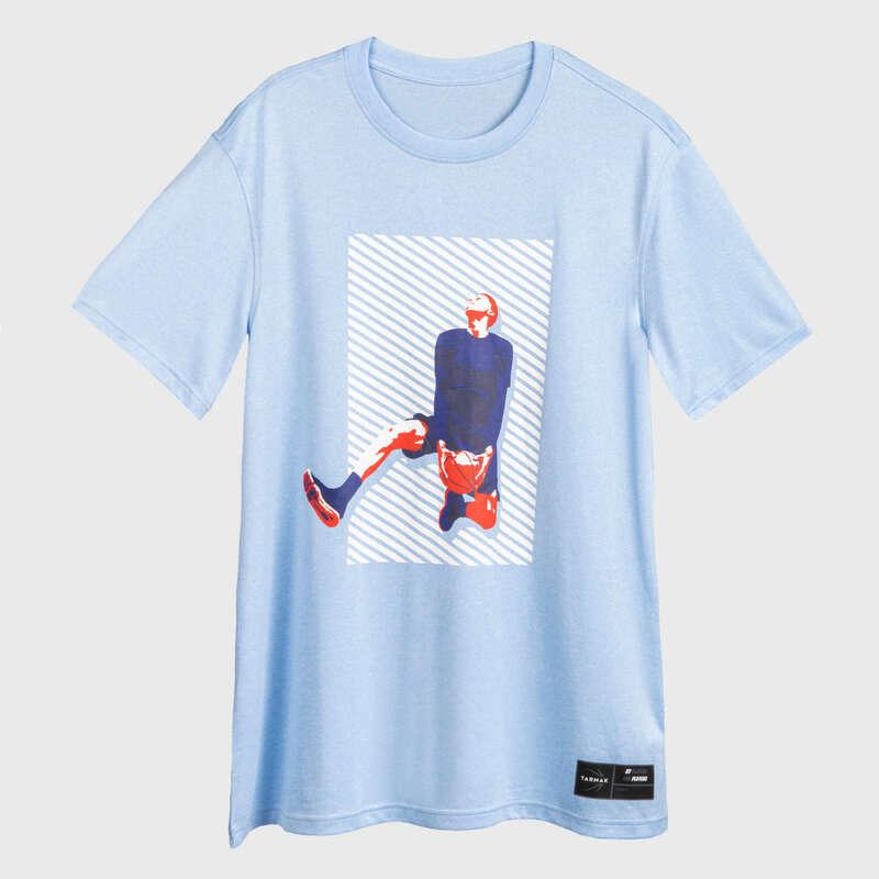 Férfi kosárlabda ruházat és kiegészítők Felsőruházat - Férfi póló kosárlabdához TS500 TARMAK - Felsőruházat