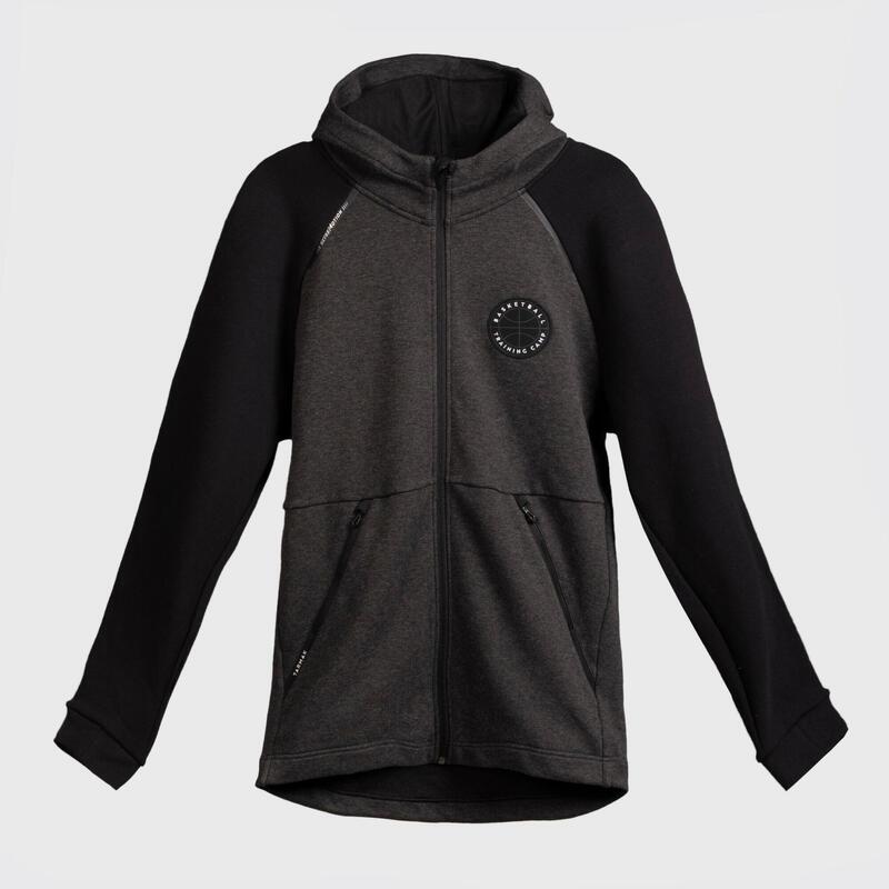 Pánská basketbalová bunda na zip černá