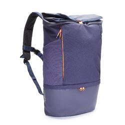 35 L背包Intensive - 深藍色配橘色