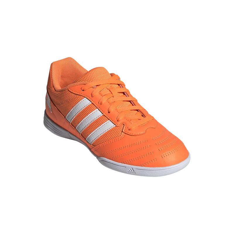 Zapatillas de Fútbol Sala Adidas Super Sala Niños Naranja