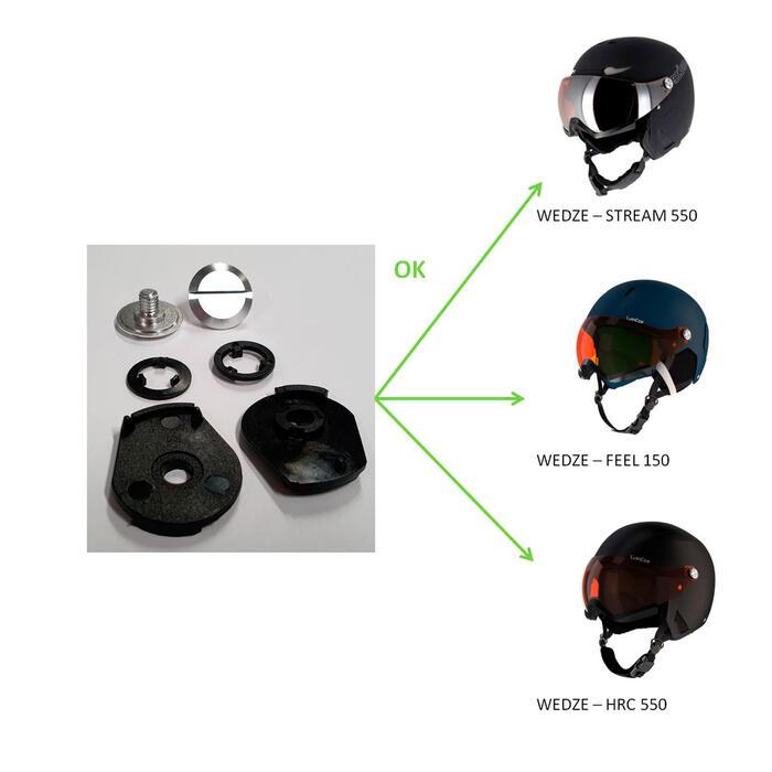 Kit vis casque de ski Feel 150/Stream 550/HRC 550