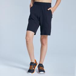 Shorts robust und leicht Kinder schwarz