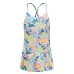 一件式連身裙泳裝Lila All Fruts - 粉紅色